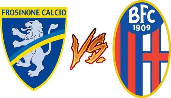 Diretta Frosinone - Bologna, streaming live , formazioni ufficiali